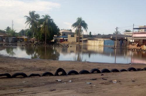 Article : Inondation à Abomey-Calavi,  «Cocotomey» mon quartier est sous l'eau